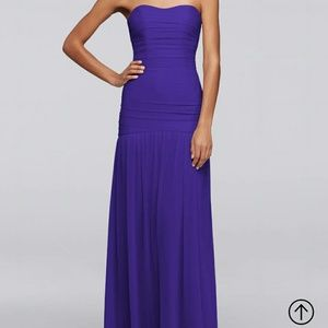 Recency colored gown